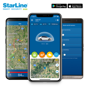 Starline S66 Auto Alarmanlage mit GPS